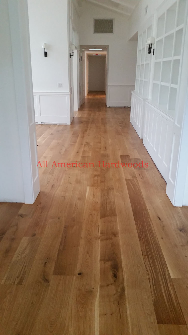 Wide French Oak Plank Flooring Installation La Jolla San Go Licensed Contract