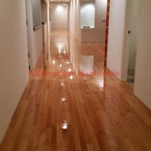 Red oak floor refinishing san diego rancho sante fe by licensed contractor