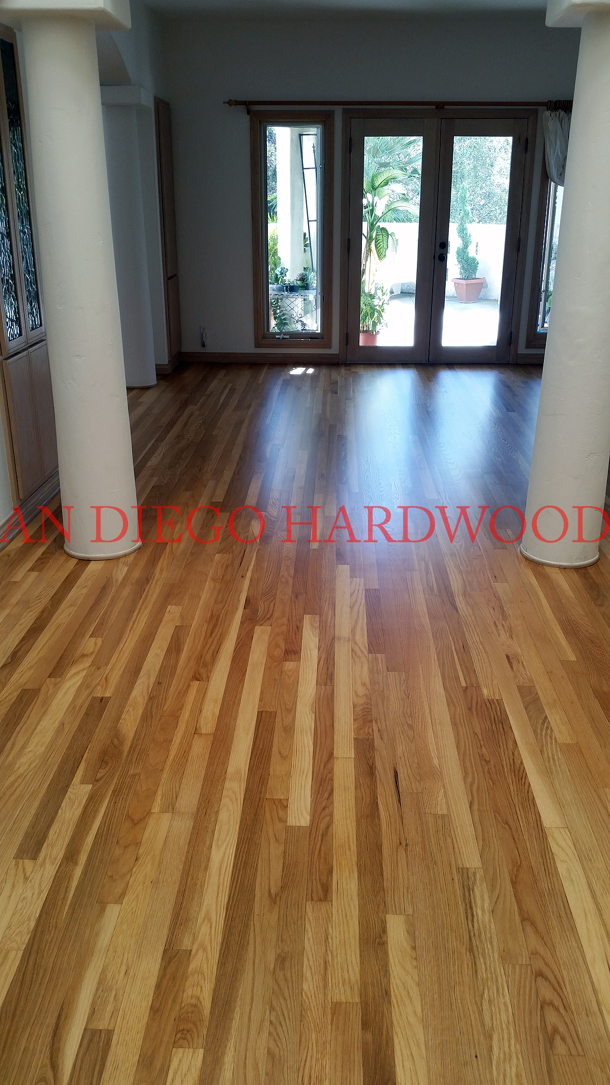 RESTORE WHITE OAK FLOORING. SAN DIEGO HARDWOOD FLOORING. WHITE OAK REFINISH SD