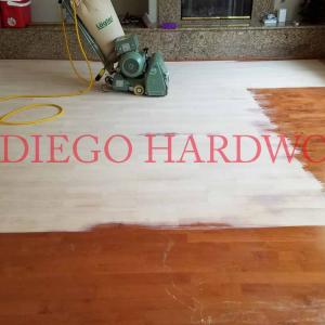 Maple hardwood floor refinishing san diego. wood floor refinish dust free