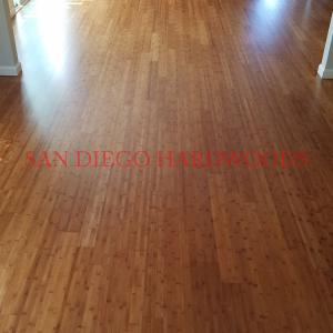 Bamboo floor restoration in san diego encinitas top quality wood floor service