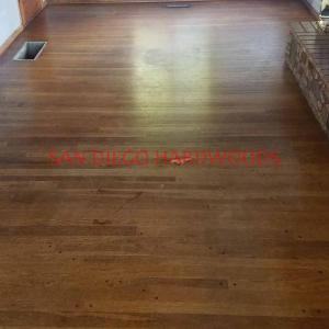 SOLID OAK HARDWOOD FLOOR REFINISHING IN SAN DIEGO COUNTY