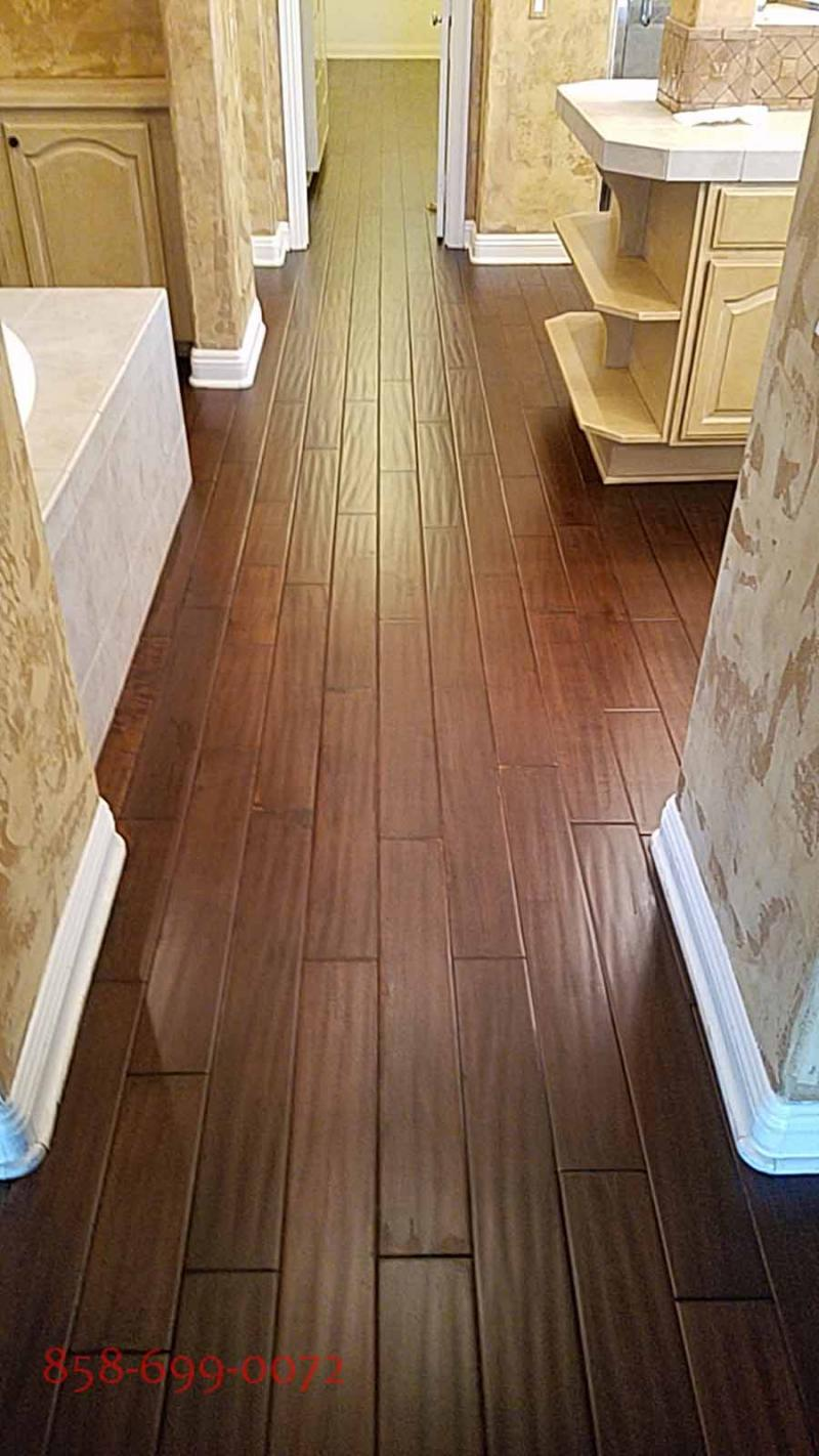 san diego hardwood floor contractor sanding finishing custom staining licensed