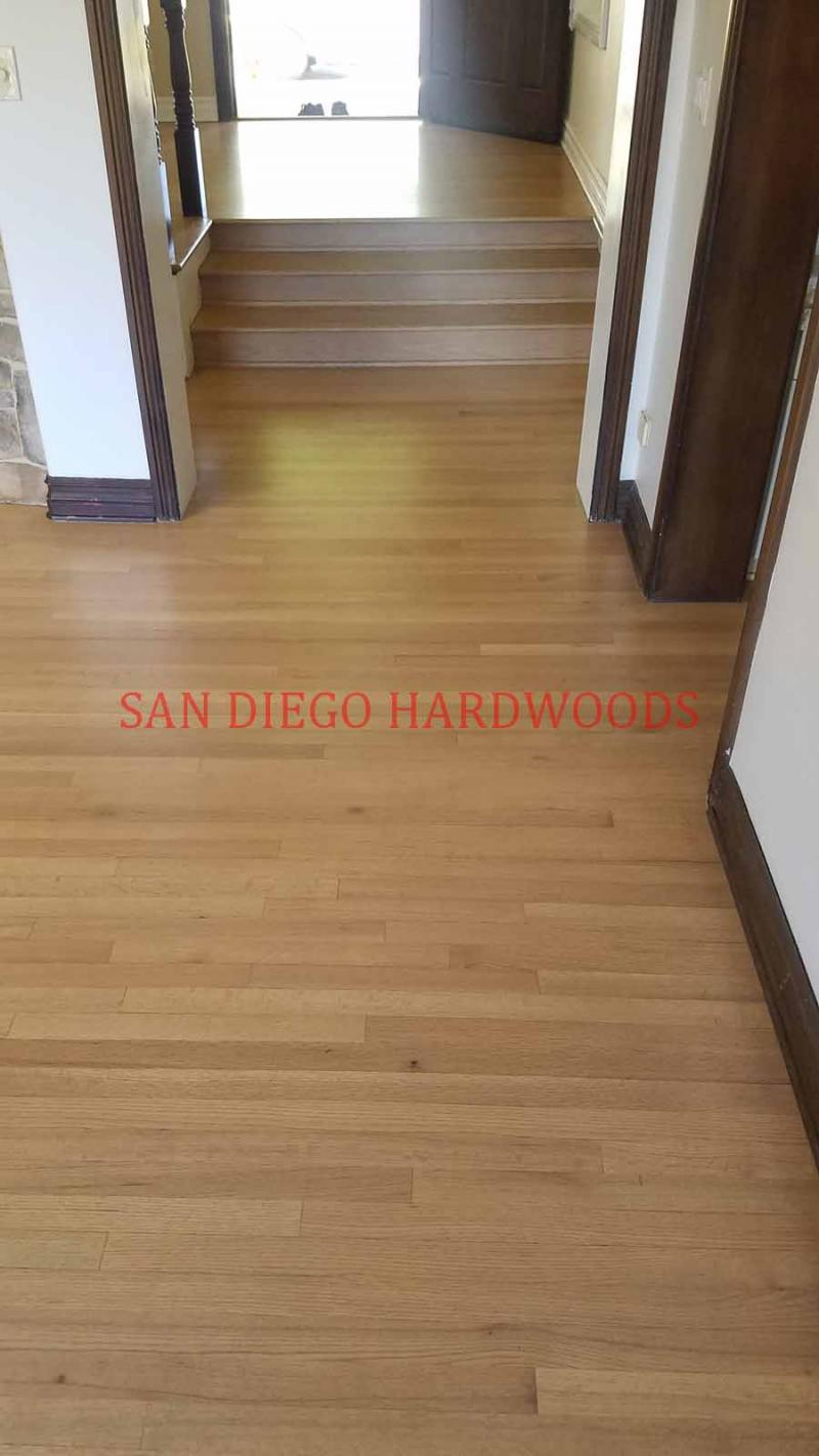 BAMBOO AND HARDWOOD FLOOR REFINISHING SAN DIEGO. DUST FREE SANDING. LICENSED PRO