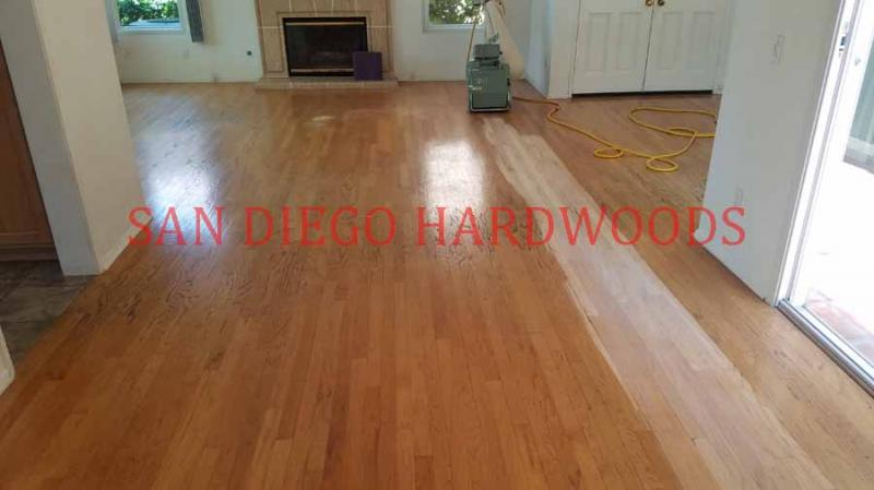 san diego hardwood floor refinishing repairs and restoration dust free system