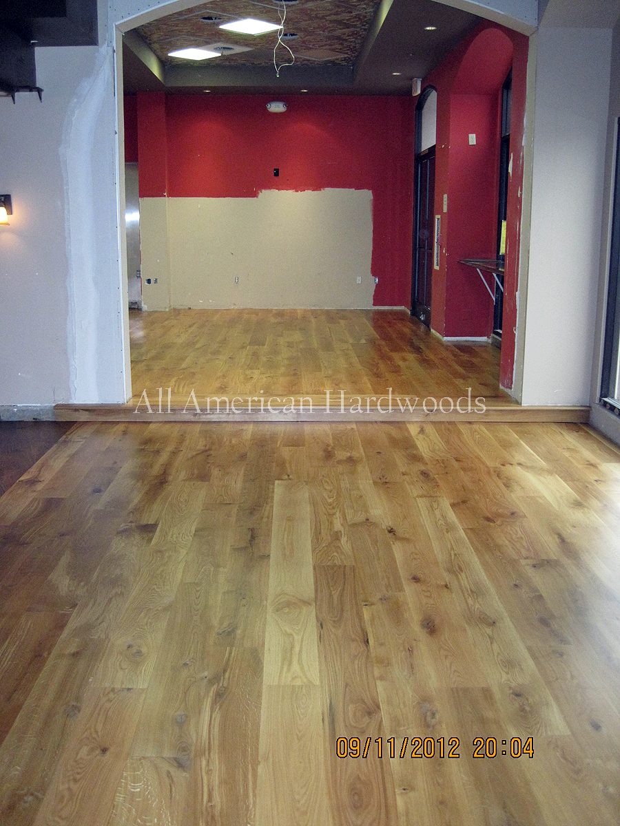 White Oak Flooring In San Go