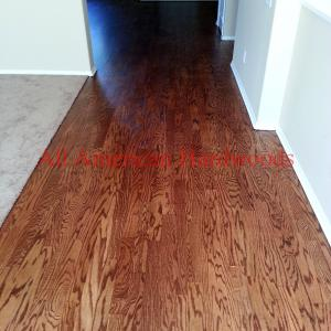 custom stained oak floor san diego. licensed contractor installer refinish repai